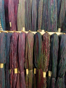 hanging yarns